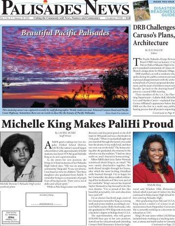 Michelle King Makes PaliHi Proud