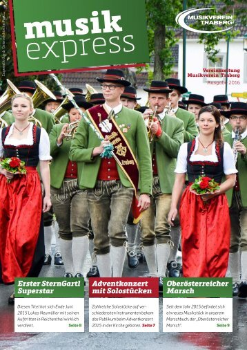 Musikexpress Musikverein Traberg