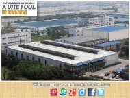 Reputed Carbide inserts Manufacturer in China