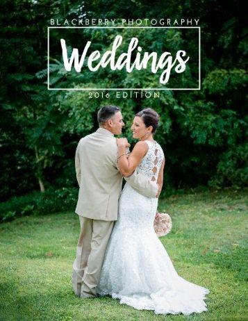 Blackberry Wedding Magazine 2016 Edition