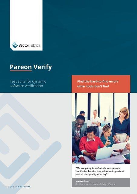 Pareon Verify