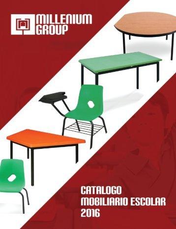 Catalogo Mobiliario Escola