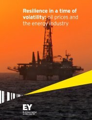 Resilience in a time of volatility oil prices and the energy industry