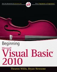 Beginning Microsoft Visual Basic 2010 V413HAV