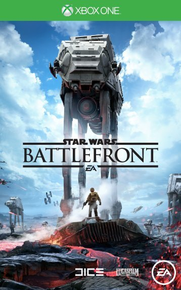 EA Games Star Wars Battlefront - STAR WARS Battlefront Xbox One
