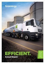 Annual Report 2012 - Greenergy