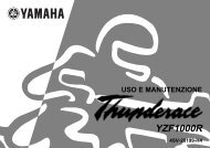 Yamaha YZF1000 - 2001 - Manuale d'Istruzioni Italiano