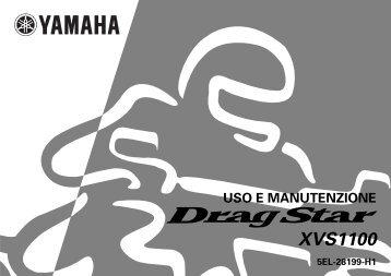 Yamaha XVS1100 - 2000 - Manuale d'Istruzioni Italiano