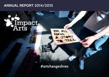 ANNUAL REPORT 2014/2015 #artchangeslives