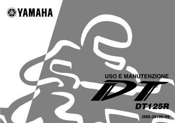 Yamaha DT125R - 2002 - Manuale d'Istruzioni Italiano