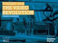 THE VIDEO REVOLUTION
