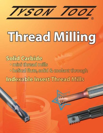 Thread Milling from Tyson Tool
