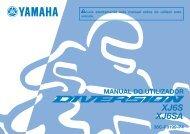 Yamaha XJ6-S - 2014 - Manuale d'Istruzioni Português