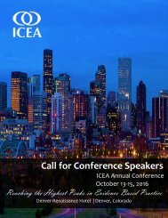 Call for Conference Speakers