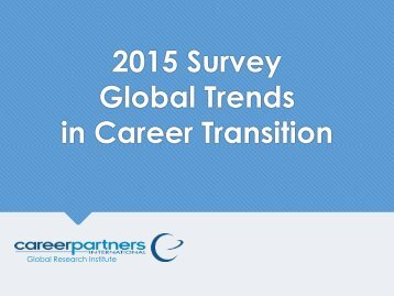 Global Trends in Career Transition