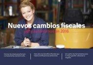 Nuevos cambios fiscales