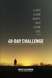 40-Day Challenge