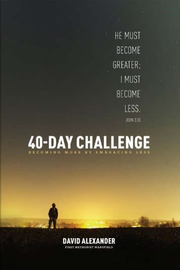 40-Day Challenge