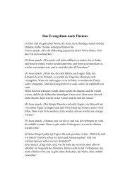 Thomas-Evangelium