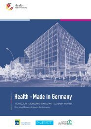 Health - Made in Germany - iXPOS