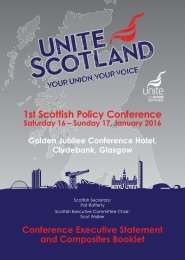 1st Scottish Policy Conference