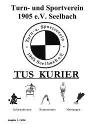 TuS-Kurier- Ausgabe 01-2016