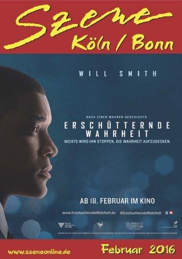 Szene Köln-Bonn, Ausgabe 02.2016