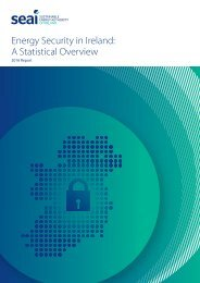 Energy Security in Ireland A Statistical Overview