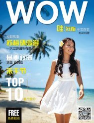 WOW!苏梅 中文杂志 Samui Chinese Magazine (第一期 issue 1)