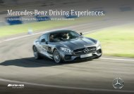 Mercedes-Benz Driving Experiences