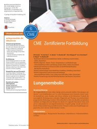 Lungenembolie CME 2016