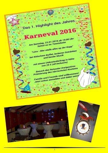 Karneval  2016