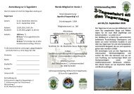 2-Tagesfahrt an den Tegernsee