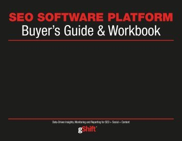 Buyer's Guide & Workbook
