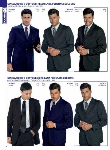 Catalogo abbigliamento Horeca