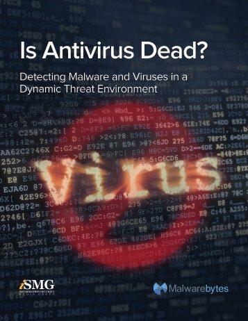 Is Antivirus Dead?