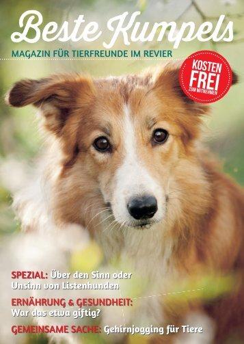 BESTE KUMPELS MAGAZIN für Tierfreunde im Revier
