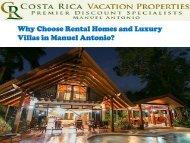 Rental Homes and Luxury Villas in Manuel Antonio