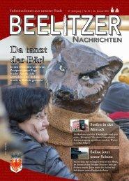 Beelitzer Nachrichten - Januar 16