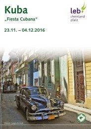 Studienreise Kuba 2016