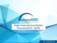 Night Vision Devices Market 2015-2020: Industry Trends