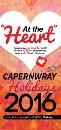 Capernwray Holidays 2016 Brochure