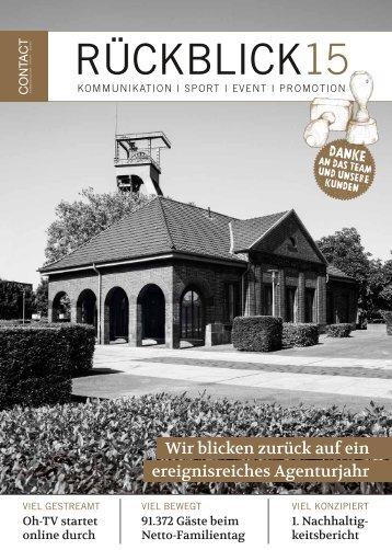 Agentur Contact Jahresrückblick 2015