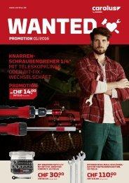 Carolus Promotion Katalog 01/2016