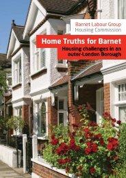 Home Truths for Barnet