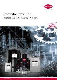 Caramba Profi-Line Katalog