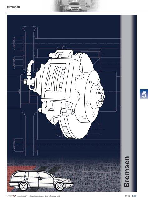 Klann Bremsen Katalog