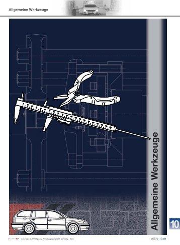 Klann Allgemeine Werkzeug Katalog