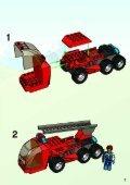 Lego Fire Squad HQ - 4657 (2003) - Quick Fix Station BI, 4657 IN - Page 3