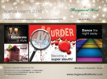special events 2016